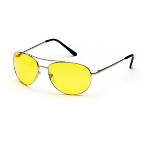 Водительские очки SPG «Непогода | Ночь» comfort, AD009 серебро