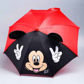 Зонт детский с ушами «Отличное настроение», Микки Маус Ø 52 см