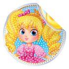 """Алмазная вышивка-наклейка для детей """"Девочка"""""""