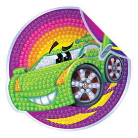 """Diamond embroidery decals for kids """"Cars"""""""