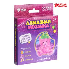 """Diamond embroidery decals for kids """"Bear"""""""