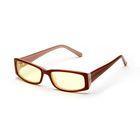 Очки компьютерные, premium AF045 коричнево-бежевый