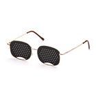 Перфорационные очки-тренажеры универсальные, золото