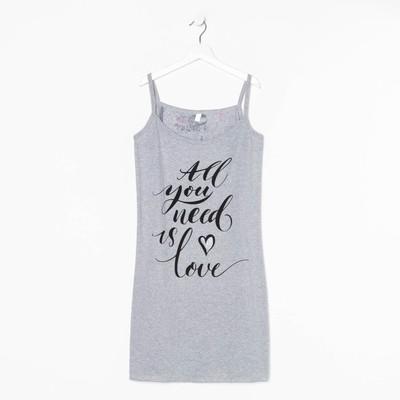 Сорочка женская НС148 МИКС, размер 48