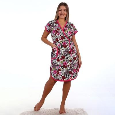 Халат запашной женский, микс, размер 46