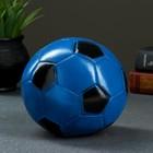 """Копилка """"Мяч"""" 15см сине-черный"""