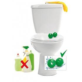 Шары магнитные для чистки туалета, 2 шт.