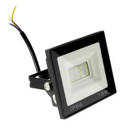 Прожектор светодиодный серия SMD-01, 10W, IP66, 800Lm, 6500К, 85-220V, БЕЛЫЙ
