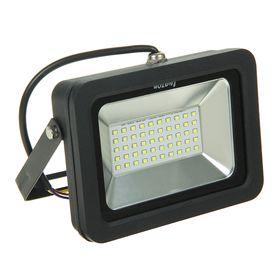 Прожектор светодиодный серия SMD-01, 30W, IP66, 2400Lm, 6500К, 85-220V, БЕЛЫЙ