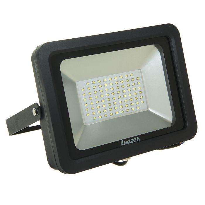 Прожектор светодиодный серия SMD-01, 50W, IP66, 4000Lm, 6500К, 85-220V, БЕЛЫЙ