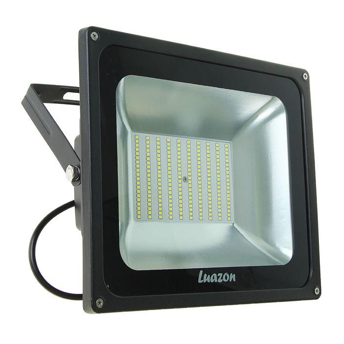 Прожектор светодиодный серия SMD-02, 100W, IP66, 8000Lm, 6500К, 85-220V, БЕЛЫЙ