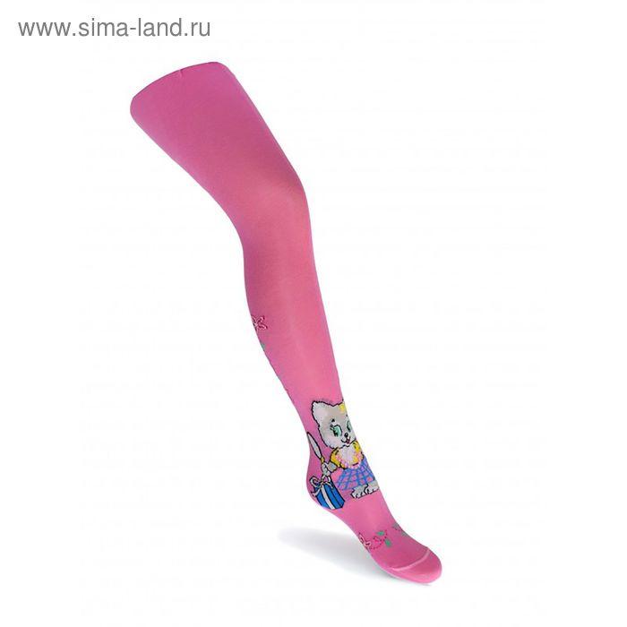Колготки для девочки КДД1-2795, цвет розовый, рост 92-98 см