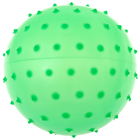 Ball massage, matte plastisol, d=12 cm, 24 g, MIX