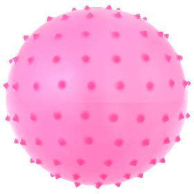 Мячик массажный, матовый пластизоль, d=16 см, 35 г, МИКС