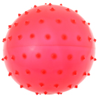 Ball massage, matte plastisol, d=18 cm, 43 g MIX