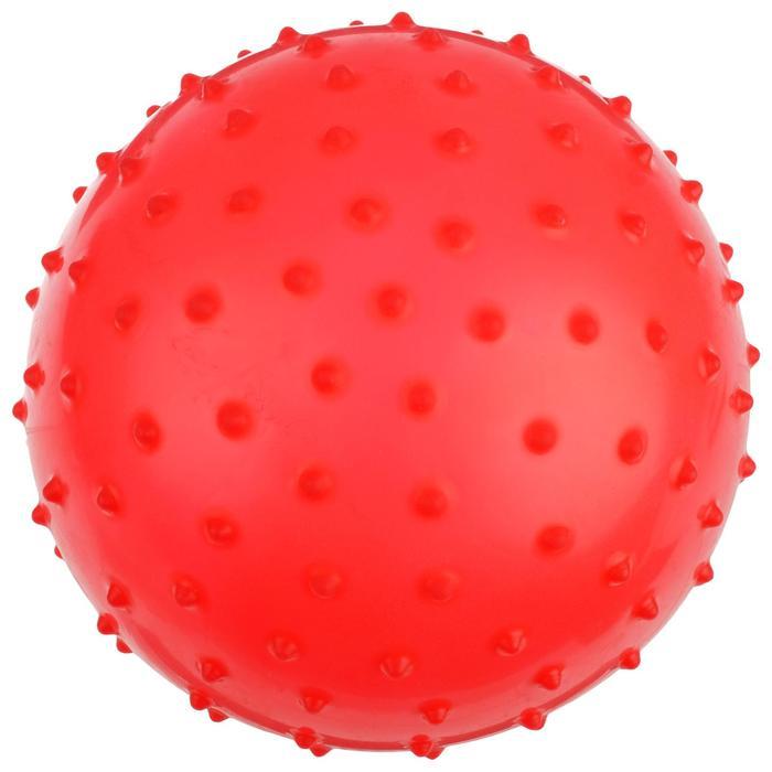 Мячик массажный, матовый пластизоль, d=20 см, 50 г, МИКС
