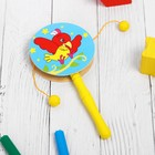 """Musical toy """"Beater"""" in the shape of a heart, MIX"""