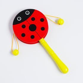 Музыкальная игрушка-колотушка «Божья коровка», МИКС