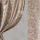 Ткань портьерная в рулоне, ширина 280 см., блэкаут 64305
