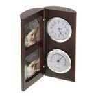 Набор настольный: часы, термометр, 2 фоторамки