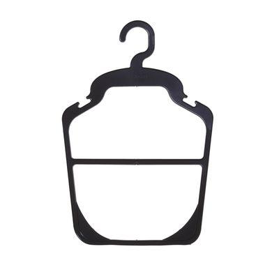 Hanger contour 23.5*35, (packing 10 PCs), black