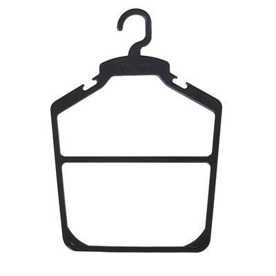 Hanger contour 27*38.5, (packing 10 PCs), black
