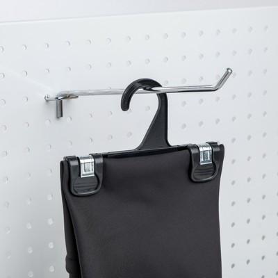 Вешалка для брюк L=15, (фасовка 100 шт), цвет чёрный