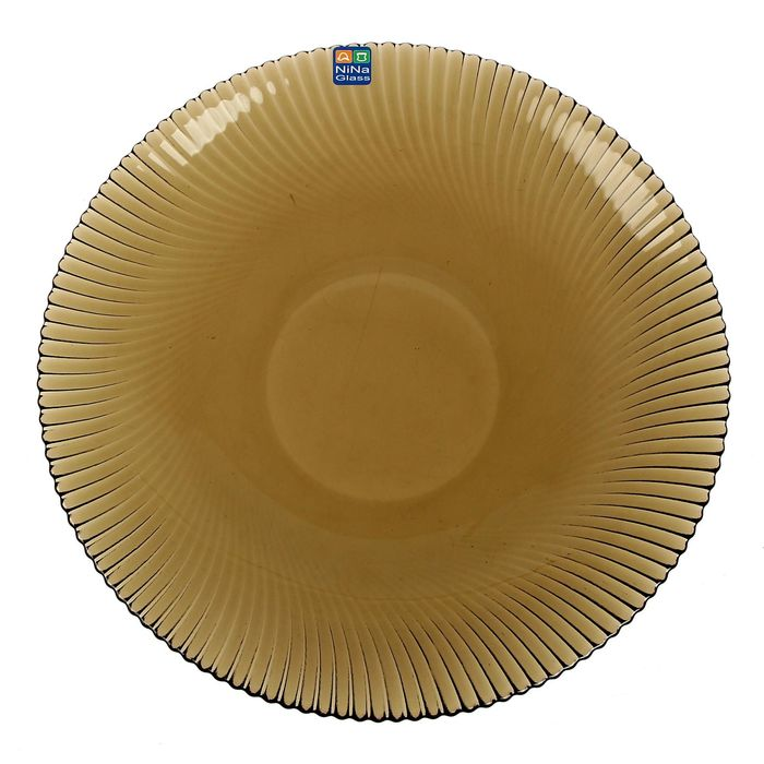 """Тарелка 26 см """"Альтера"""", цвет дымчатый"""