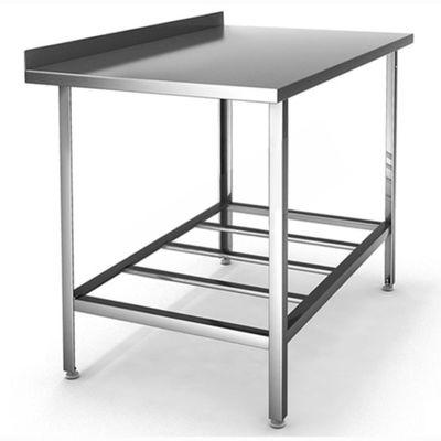 Стол производственный с бортом, оцинк. сталь, 1700х600х860