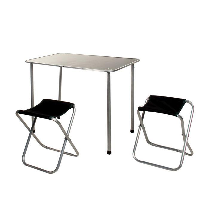 Набор туристический: стол, 2 стула