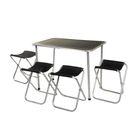 Набор туристический: стол, 4 стула