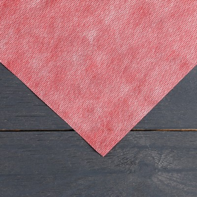 Материал укрывной красно-белый