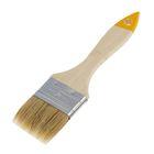 Кисть плоская Hobbi/Remocoloi Любитель, 50 мм, ручка дерево, натуральная щетина