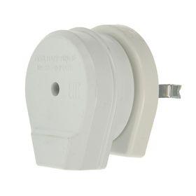 Разъем д/плиты РШ-ВШ, 2P+PE, СУ, 32 А, 250 В, пластик, белый, SBE-IS2-250-P