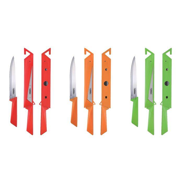 Нож PETERHOF шинковочный, 20,3 см, цвет МИКС