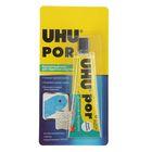 Клей Универсальный UHU Por 50 мл для пористых пластиков, блистер 40359/В