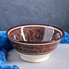 Коса большая Риштанская Керамика, 18см, коричневая - фото 650753
