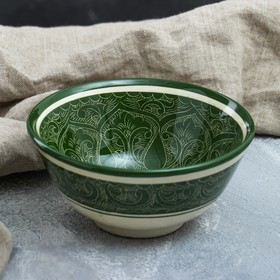 Коса малая Риштанская Керамика 15.5см, зелёная