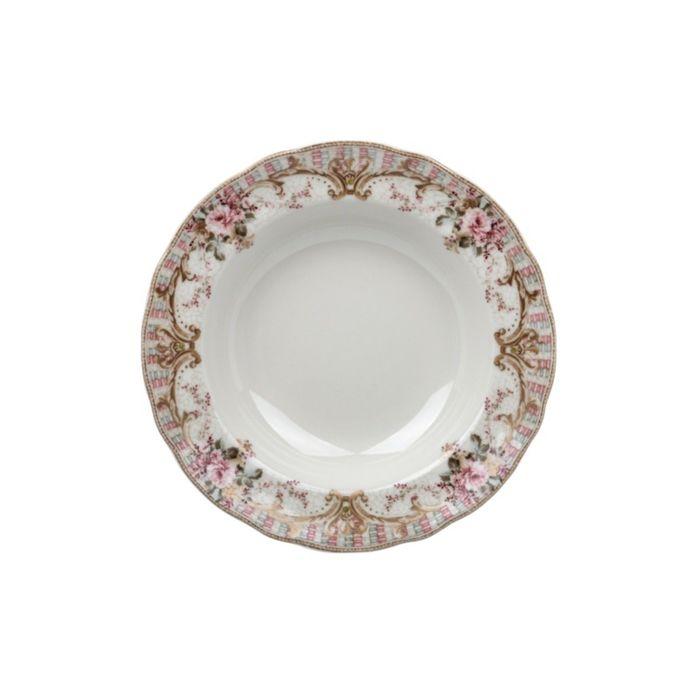 Тарелка глубокая «Абингтон Роуз», 23,5 см