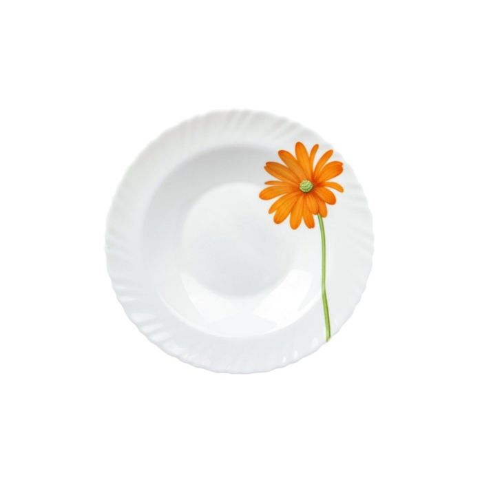 """Тарелка глубокая """"Гербера"""", 20,3 см"""