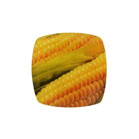 Тарелка квадратная «Кукуруза», 20 см