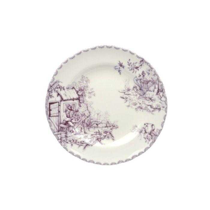 Тарелка десертная «Инглиш принтс Флинт», 22 см