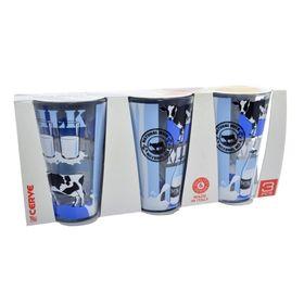 Стаканы «Молоко», объём 310 мл, 3 шт.