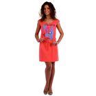 Платье женское Лера цвет коралловый, р-р 52