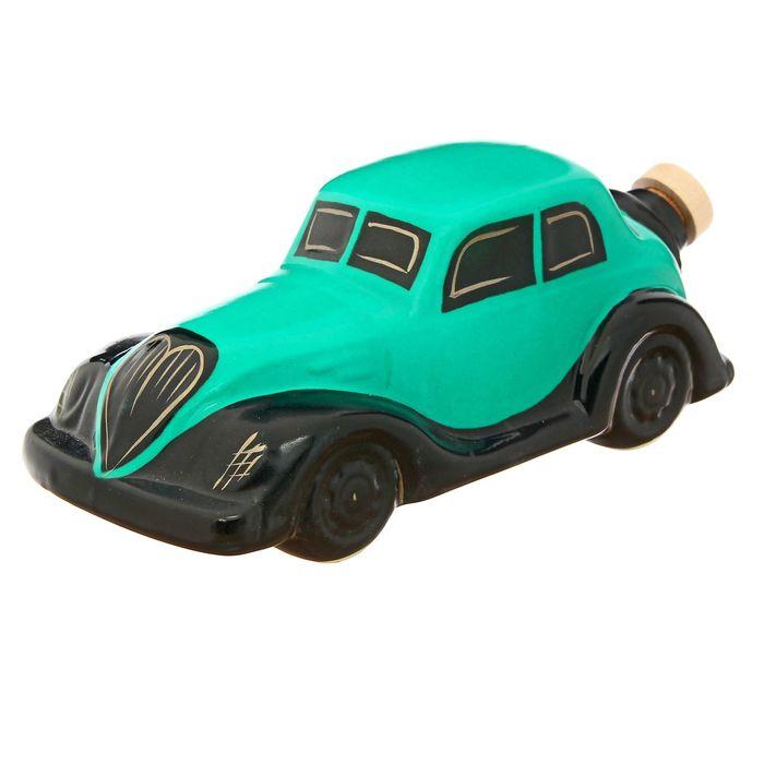 """Штоф """"Машина"""" зелёная, 0,5 л"""
