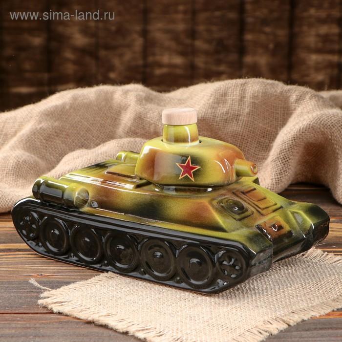 """Штоф """"Танк"""" 1 л"""