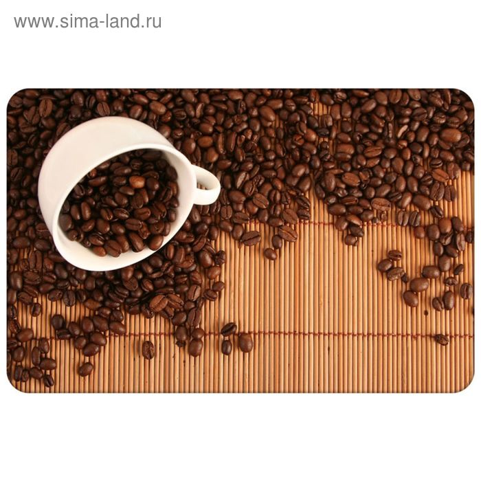 """Салфетка сервировочная """"Зерна кофе"""" 40х28 см"""