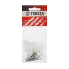 Скоба для кабеля TUNDRA krep, плоская 6 мм, в пакете 50 шт.
