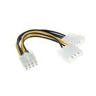 Кабель-разветвитель питания Cablexpert CC-PSU-81, 2хMolex(m)-PCI-Express(8pin)(f), 0.15 м