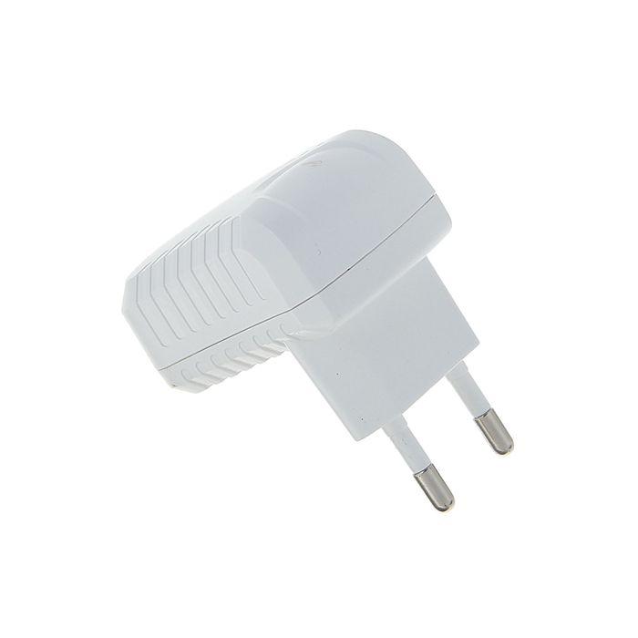 Адаптер питания Cablexpert MP3A-PC-07, 100/220 В - 5 В, USB 1 порт, 1 A, белый
